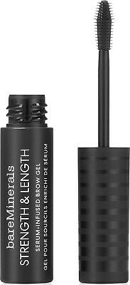 bareMinerals STRENGTH & LENGTH SERUM INFUSED BROW GEL CLEAR .16 fl oz