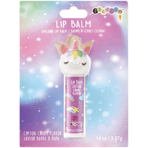 iscream UNICORN LIP BALM COTTON CANDY FLAVOR