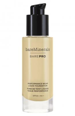 bareMinerals BarePro Performance Wear Liquid Foundation Golden Ivory 1 fl oz