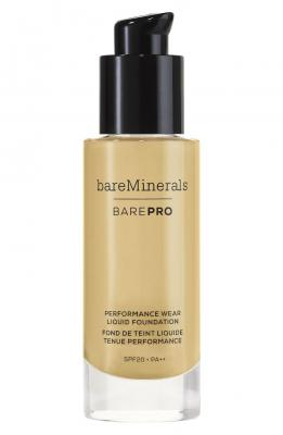 bareMinerals BarePro Performance Wear Liquid Foundation Sandstone 1 fl oz