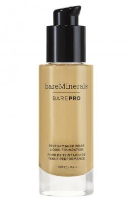 bareMinerals BarePro Performance Wear Liquid Foundation Toffee 1 fl oz