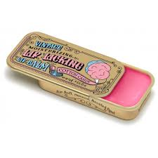 VINTAGE MOISTURIZING LIP LICKING LIP BALM TIN COTTON CANDY