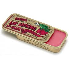 VINTAGE MOISTURIZING LIP LICKING LIP BALM TIN STRAWBERRY