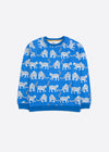 Snow Leopards Organic Cotton Kids Sweatshirt