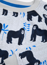 Gorillas Organic Cotton Kids Sweatshirt