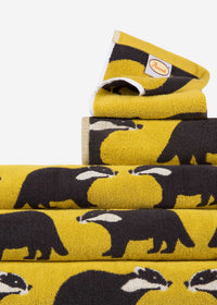 Kissing Badgers Organic Cotton Towel Set