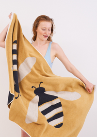 Buzzy Bee Organic Cotton Towels
