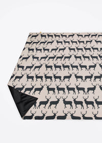 Kissing Stags Picnic Blanket