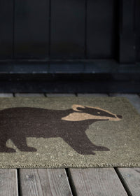 Badger Doormat