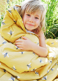 Buzzy Bee Organic Cotton Sleeping Bag