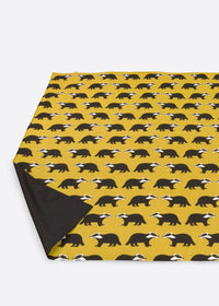 Kissing Badgers Picnic Blanket