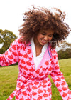 Kissing Rabbits Organic Cotton Dressing Gown