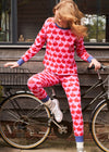 Kissing Rabbits Organic Cotton Jersey Pyjamas