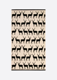 Anorak Kissing Stags Organic Cotton Towel Set
