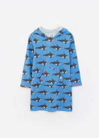 Orca Sustainable Kids Throw on Towel