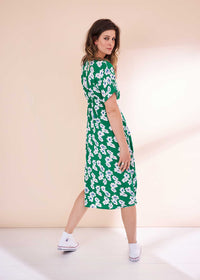 Summer Blossom EcoVero Midi Dress