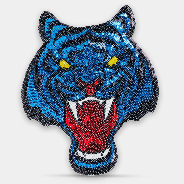 Patch Panter Paljett Stor