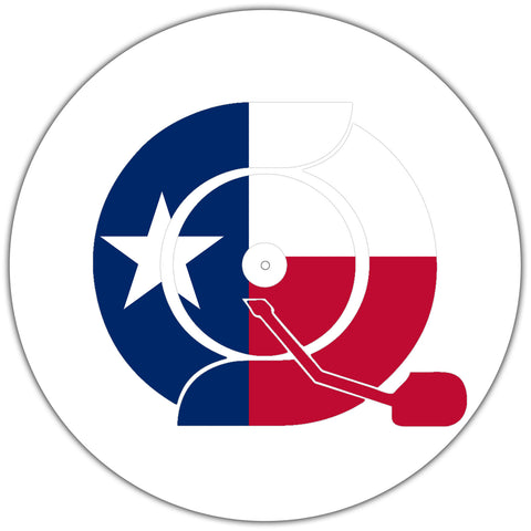 Turntable Slipmats (Texas) - Crate Connect Clothing - DJ Clothing - Turntable Clothing