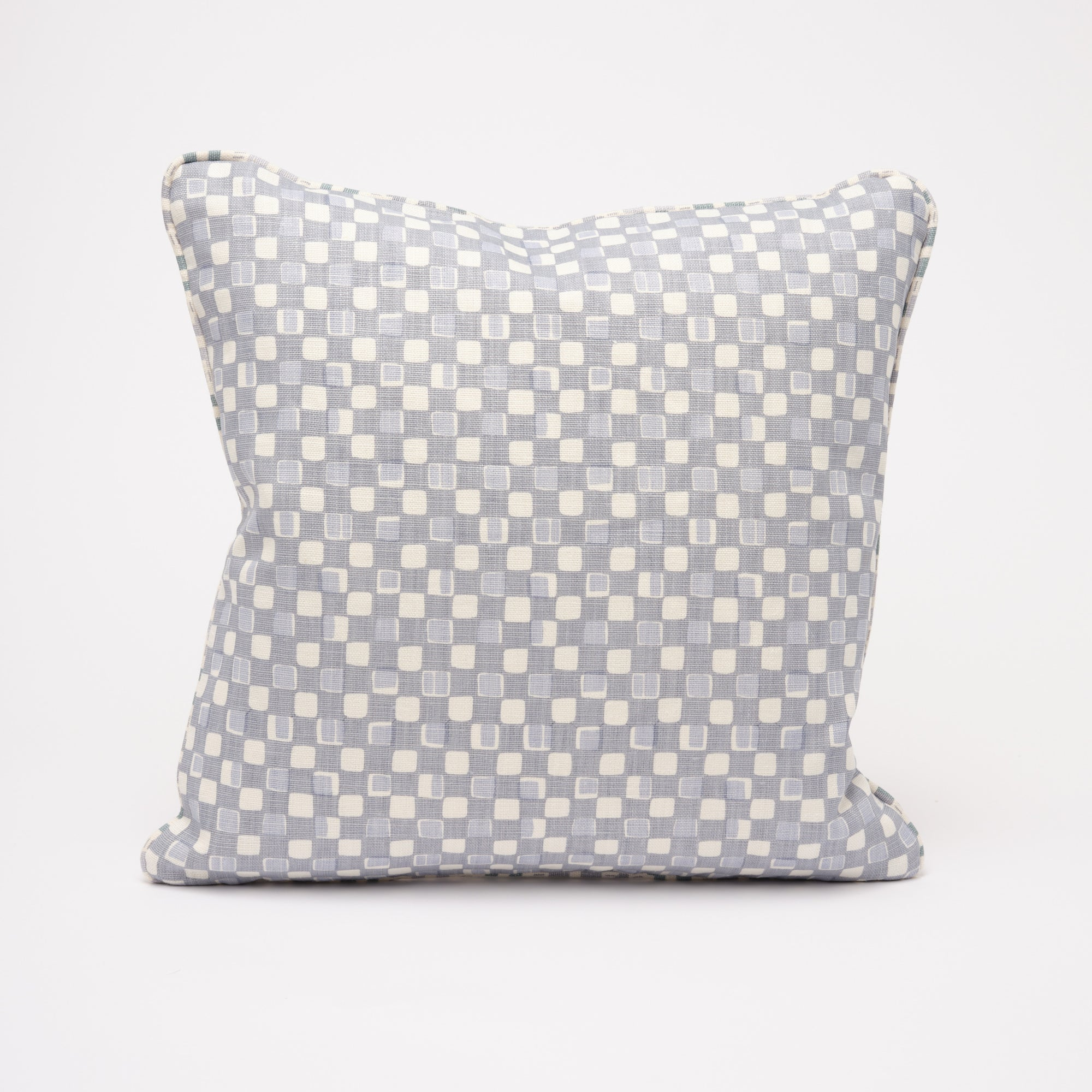 FAYE CUSHION - DOVE BLUE