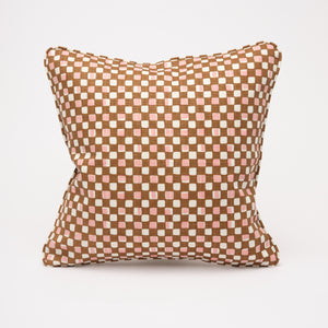 FAYE CUSHION - BROWN