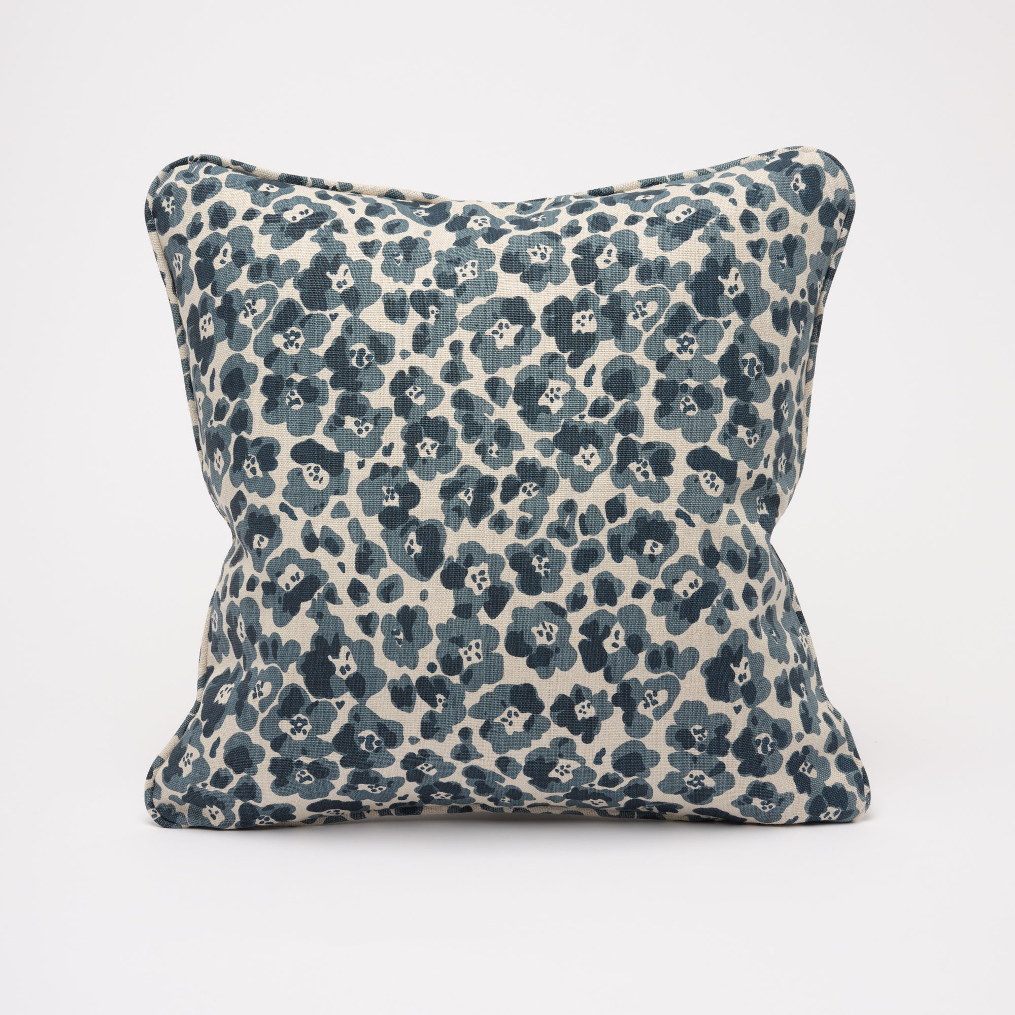 FLORENCE CUSHION - INDIGO