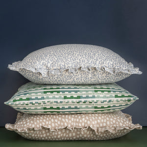MARIANNE CUSHION - GREEN