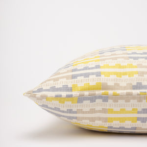 MARIANNE CUSHION - LEMON BLUE