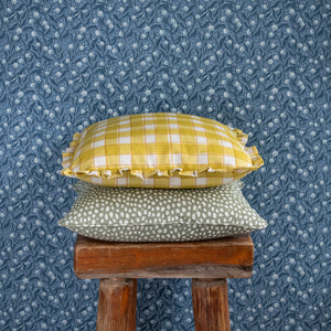 SPOTTY CUSHION - SAGE