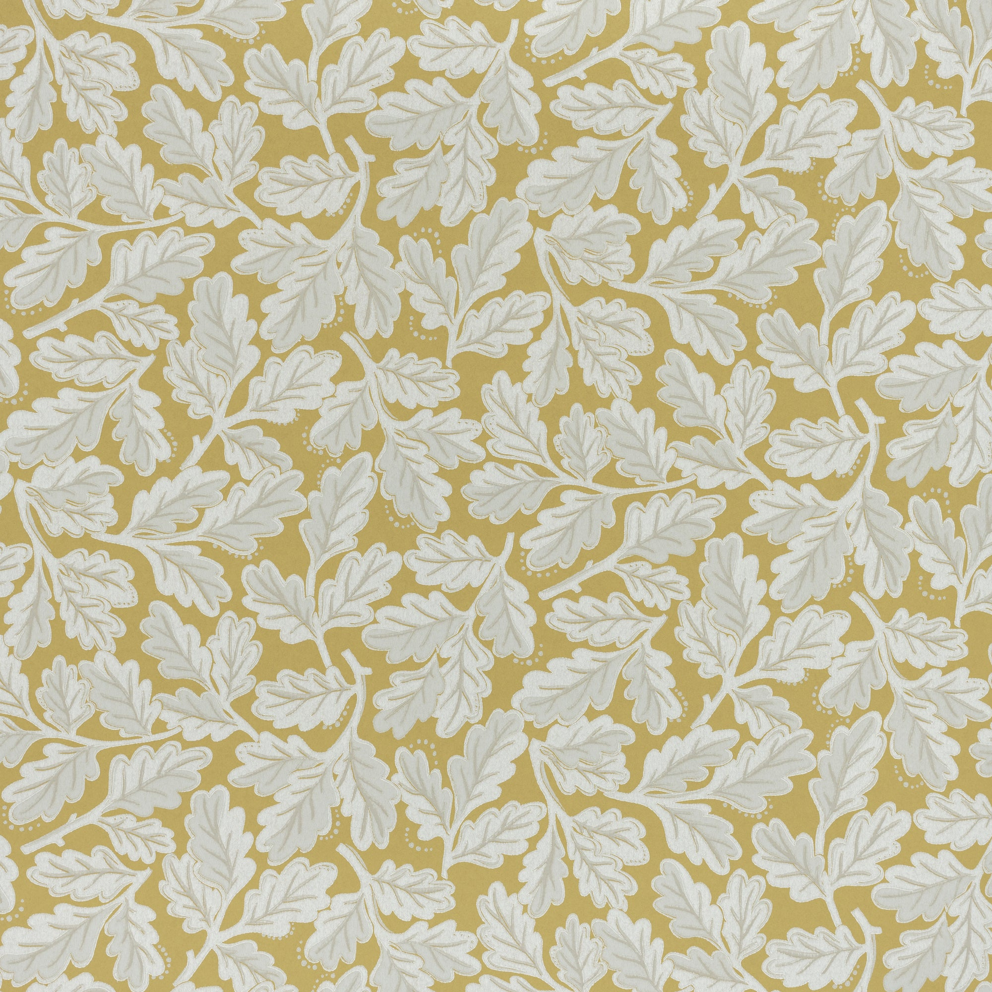 BLANCHE WALLPAPER - MUSTARD