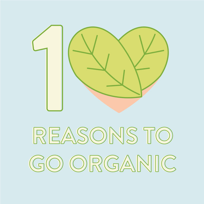 TOP 10 REASONS TO GO ORGANIC