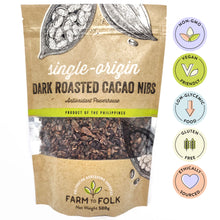 Load image into Gallery viewer, Organic Dark Roasted Cacao Nibs