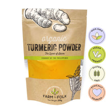 Load image into Gallery viewer, Organic 100% Pure Turmeric Powder