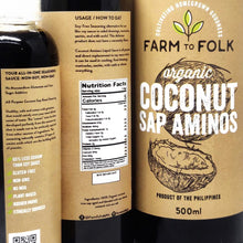Load image into Gallery viewer, Organic Coconut Sap Aminos