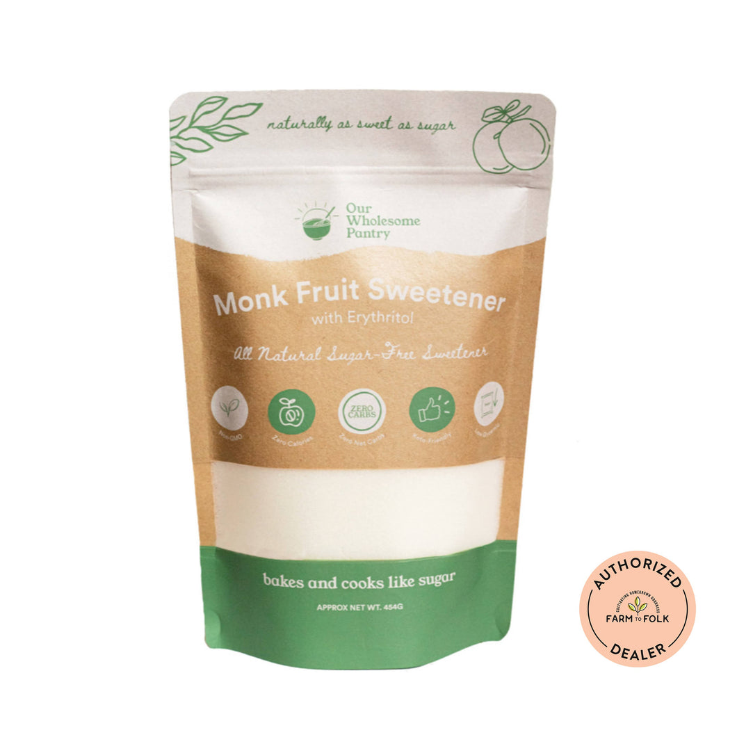 Organic Monk Fruit Sweetener