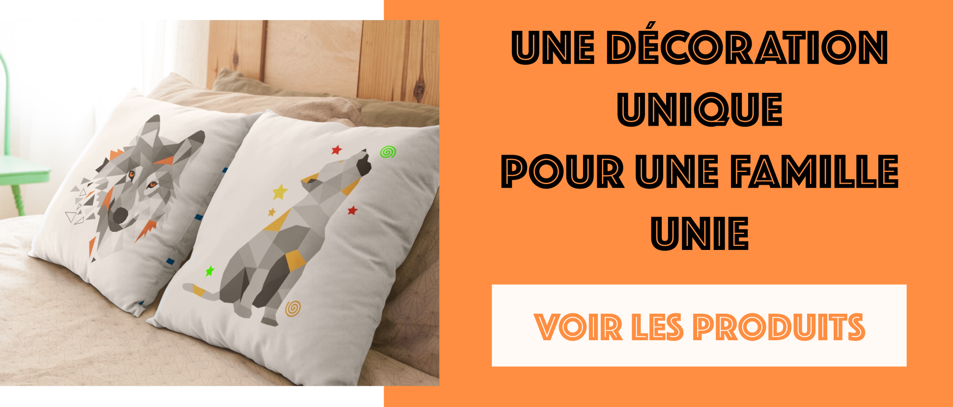 Coussin Animal Totem