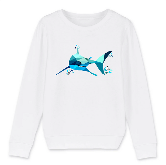 sweat tete de requin