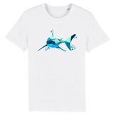tee shirt requin blanc