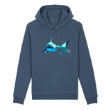 sweat capuche requin