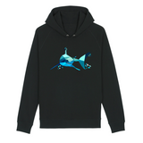 sweat a capuche requin