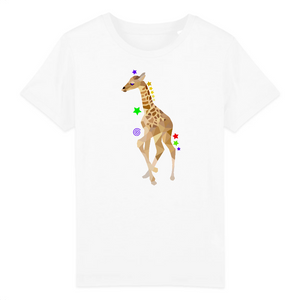 t shirt animal girafon