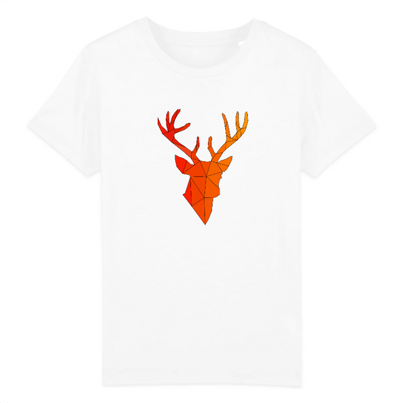 T-Shirt Animaux Motif Cerf
