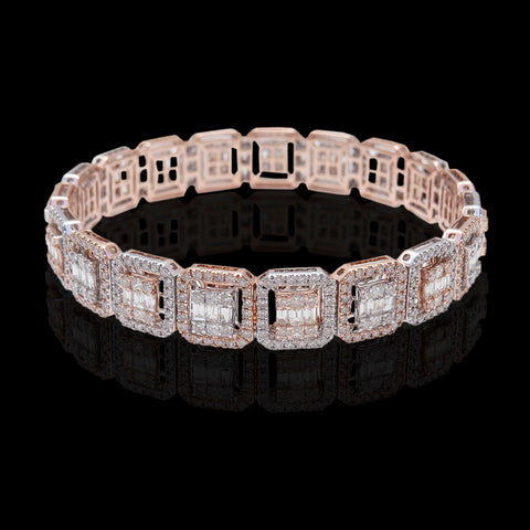 Diamond Bangle SSBL10864A