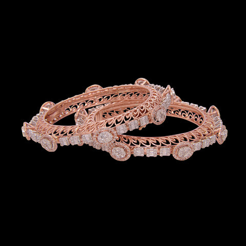 Diamond Bangle SSBL10872B