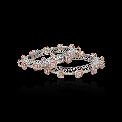 Diamond Bangle SSBL10875