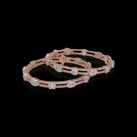 Diamond Bangle SSBL10893C