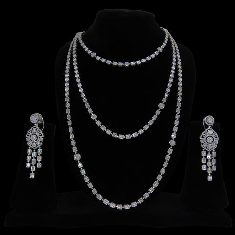 Diamond Necklace Set SSNL0646