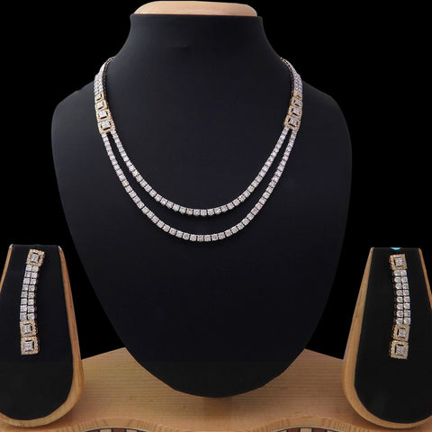 Diamond Necklace Set SSNL11260D