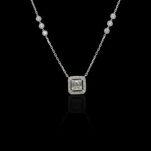 Diamond Pendant SSP11007