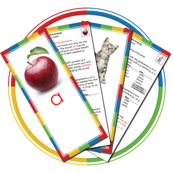 Phoneme/Grapheme Instructional Cards