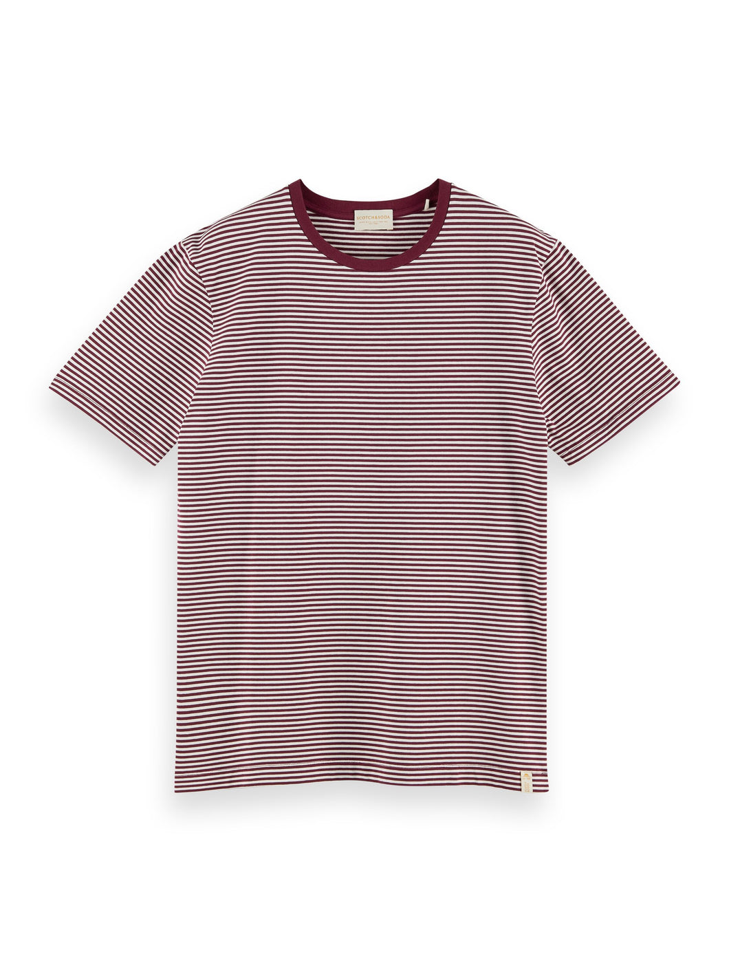 Scotch & Soda Classic Crewneck T-Shirt